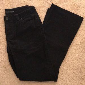 Calvin Klein black corduroy jeans - size 12